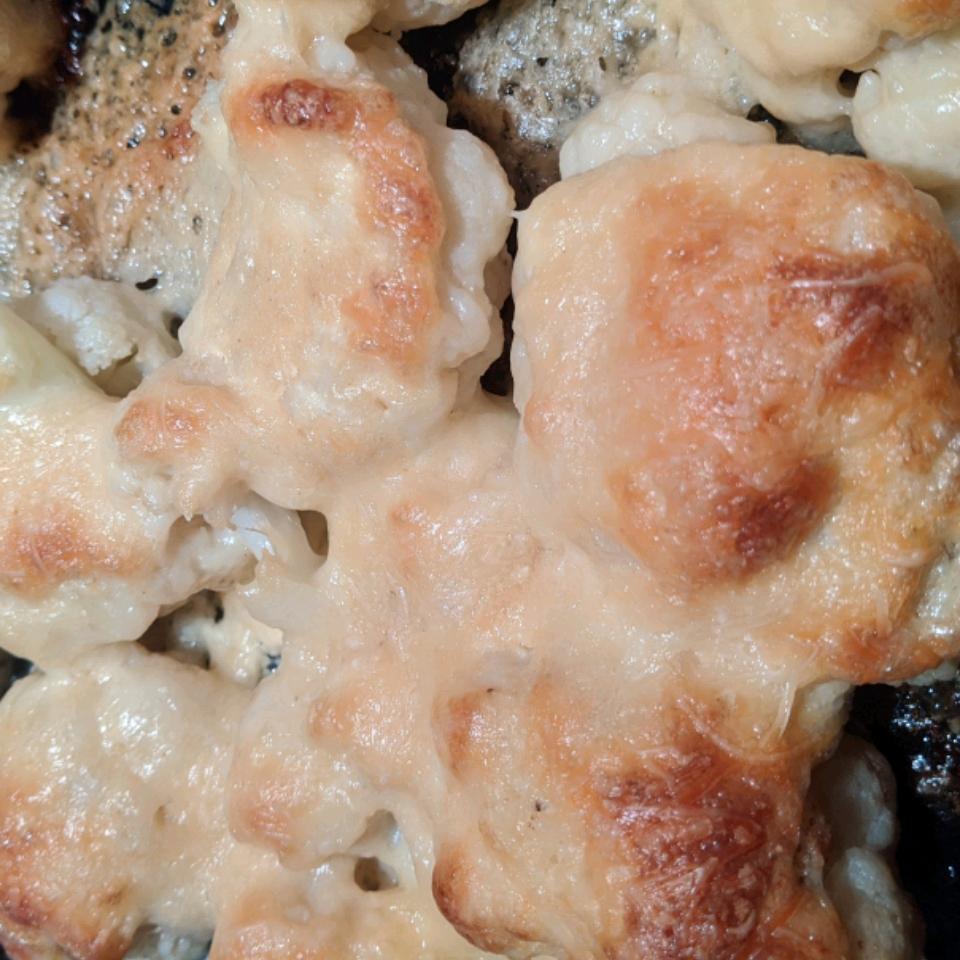 Cheesy Baked Cauliflower