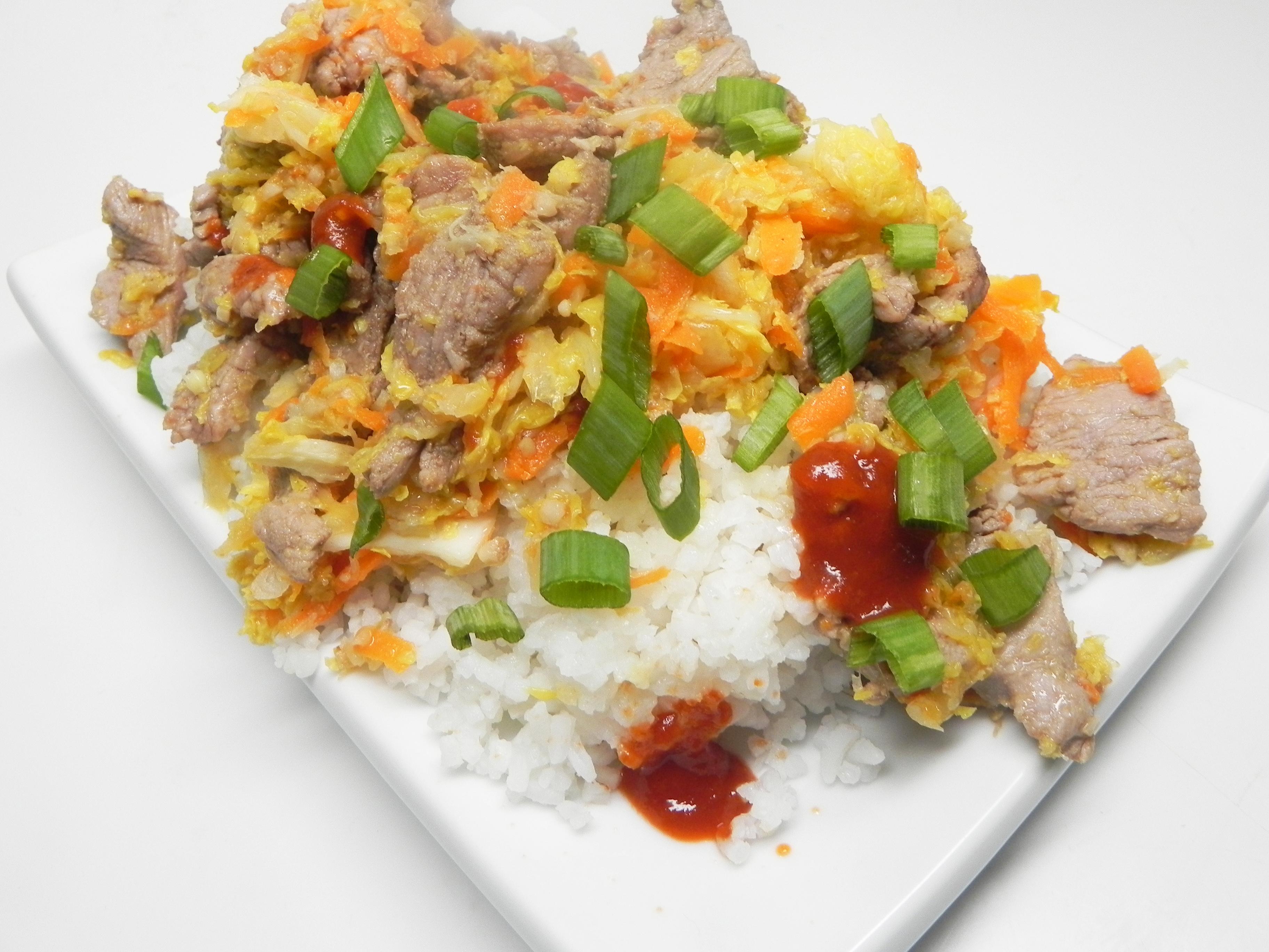 Easy Moo Shu Pork