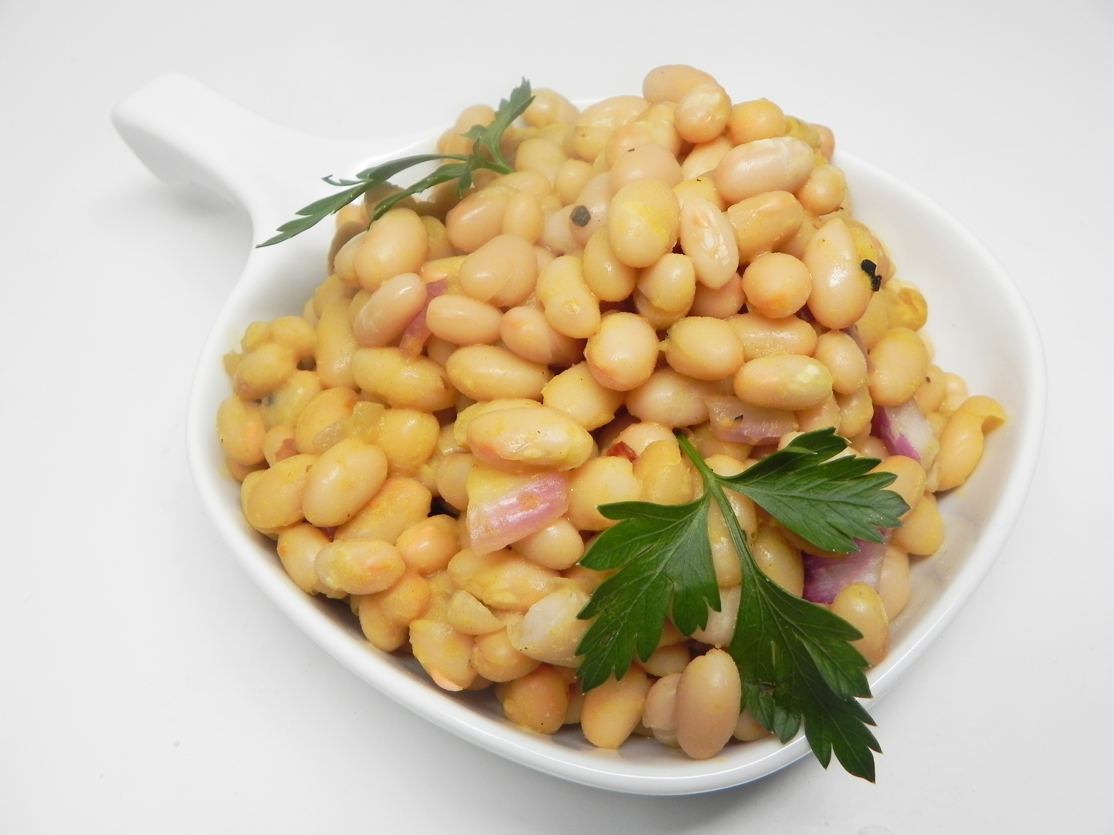 Feves au Lard Maison (Baked Beans with Maple Syrup)
