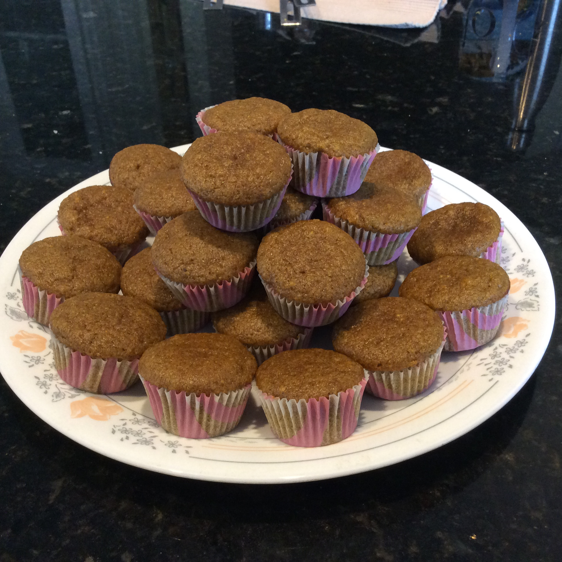 Kabocha Squash Mini Muffins