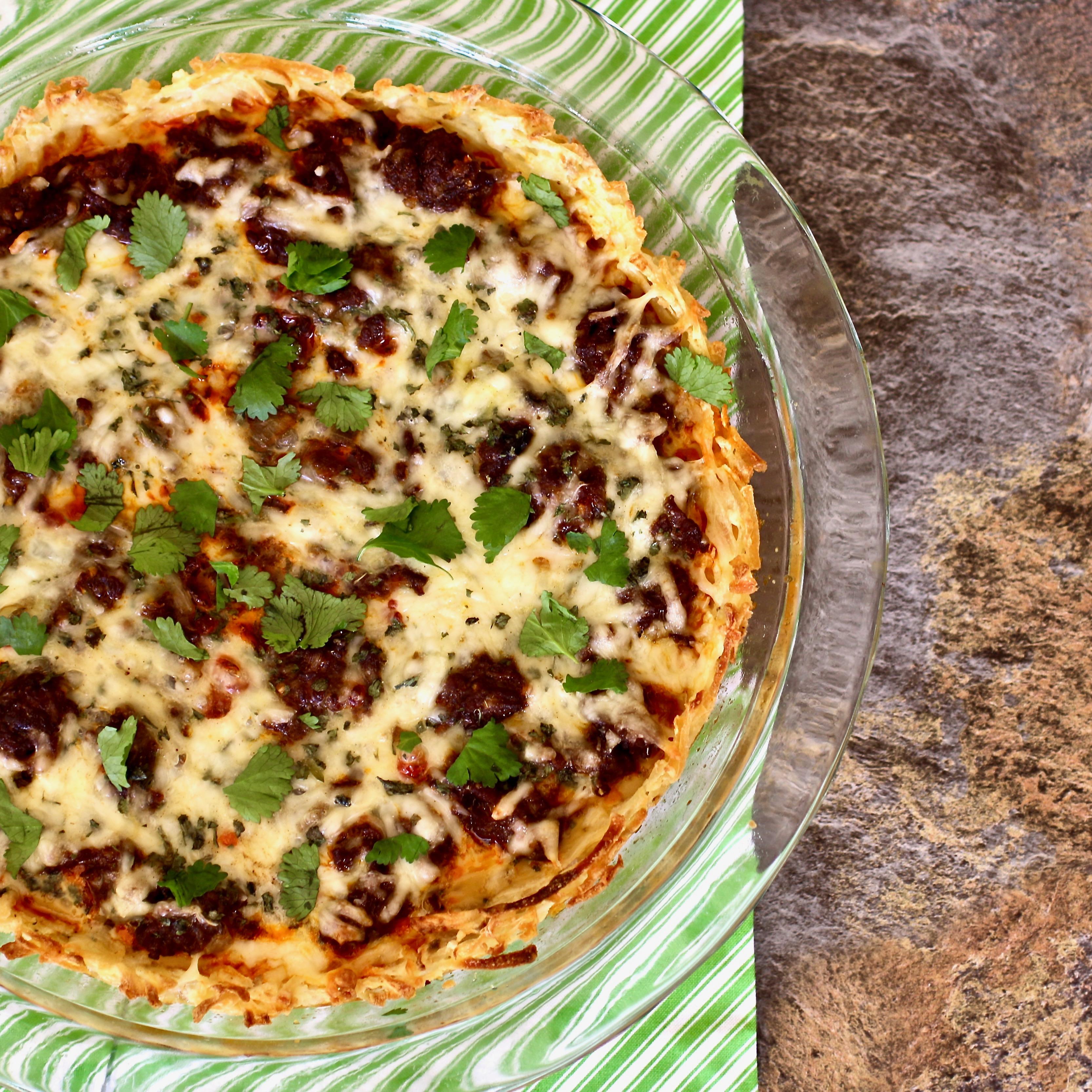Mexican Chorizo Breakfast Pie
