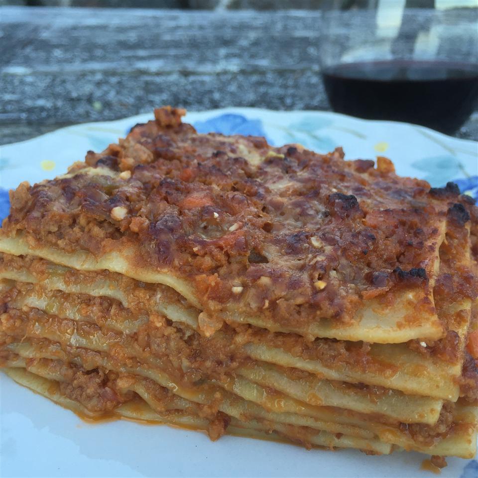 Perfect Lasagna Bolognese