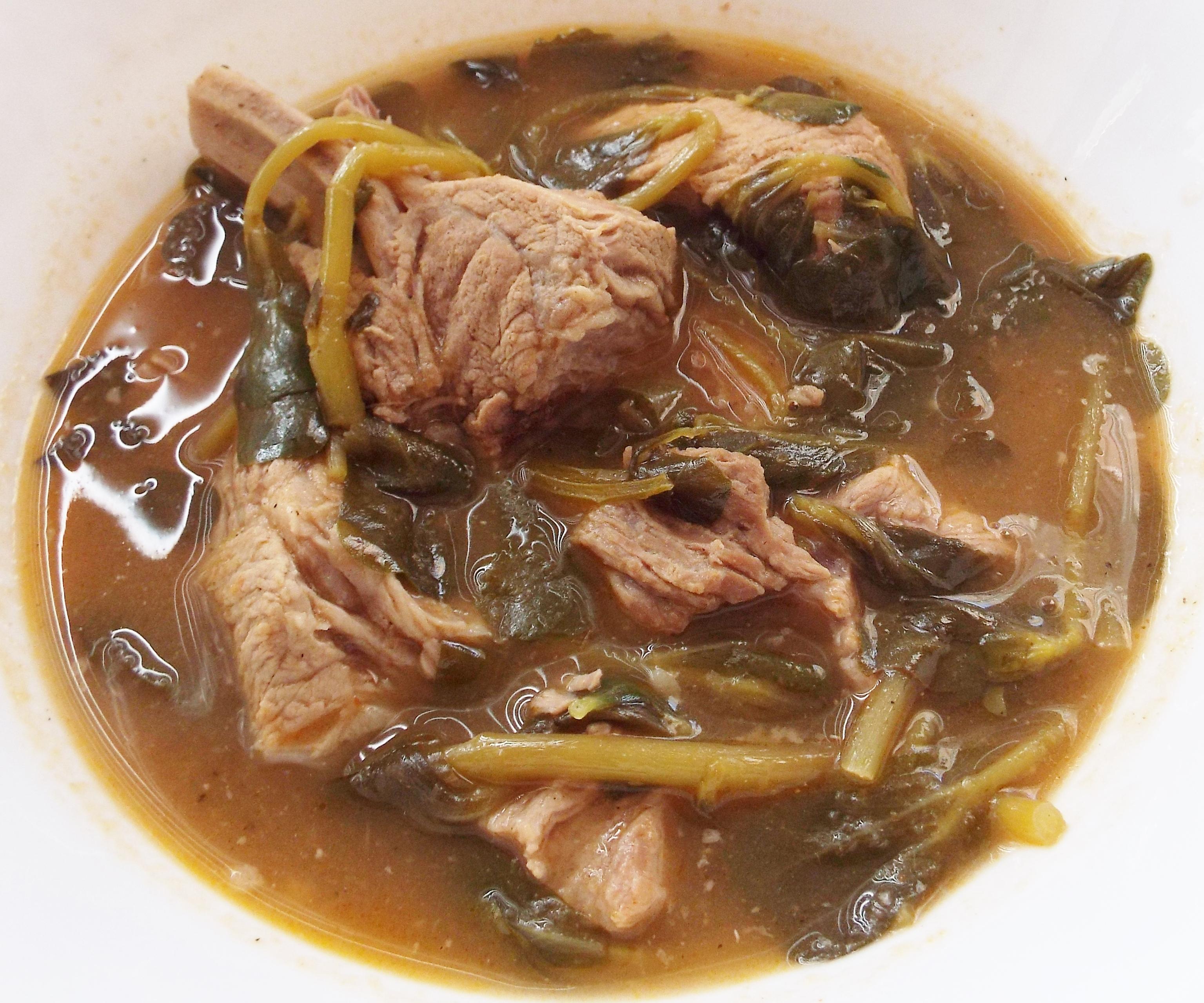Purslane Pork Stew