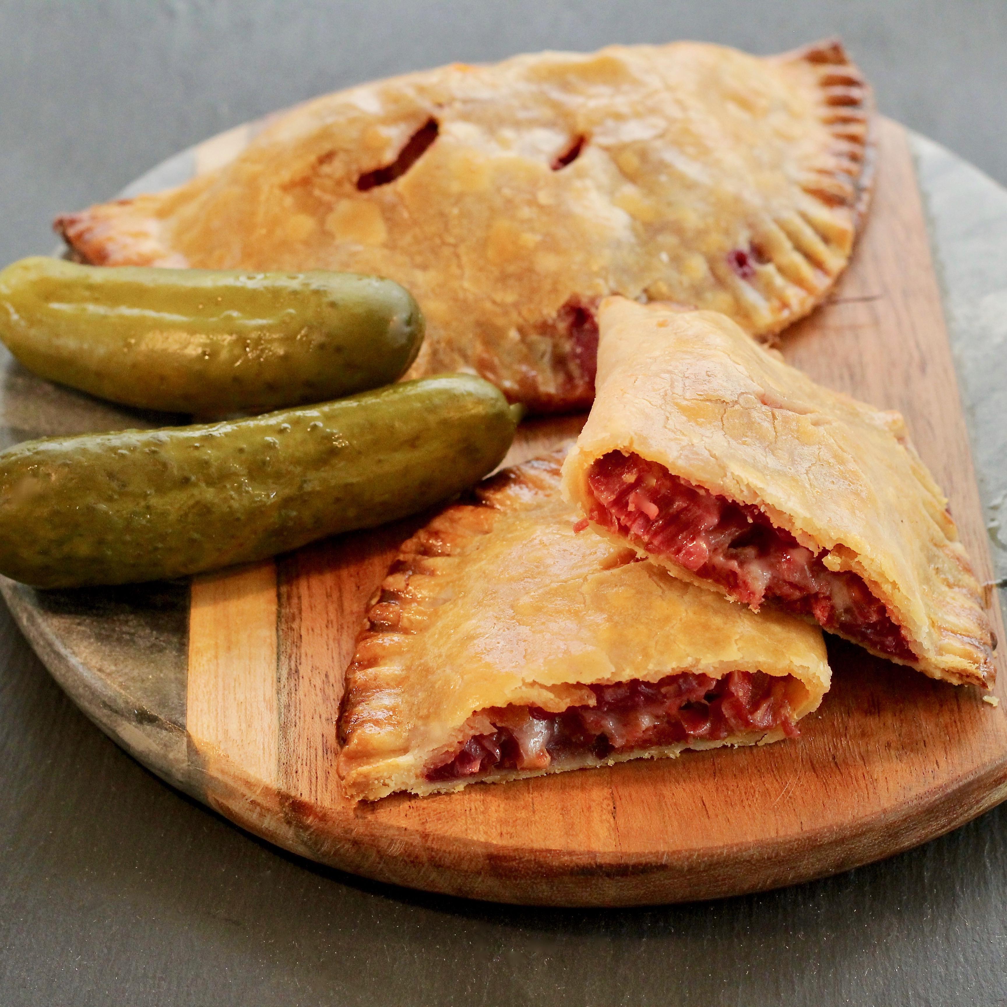 Red Reuben Hand Pies