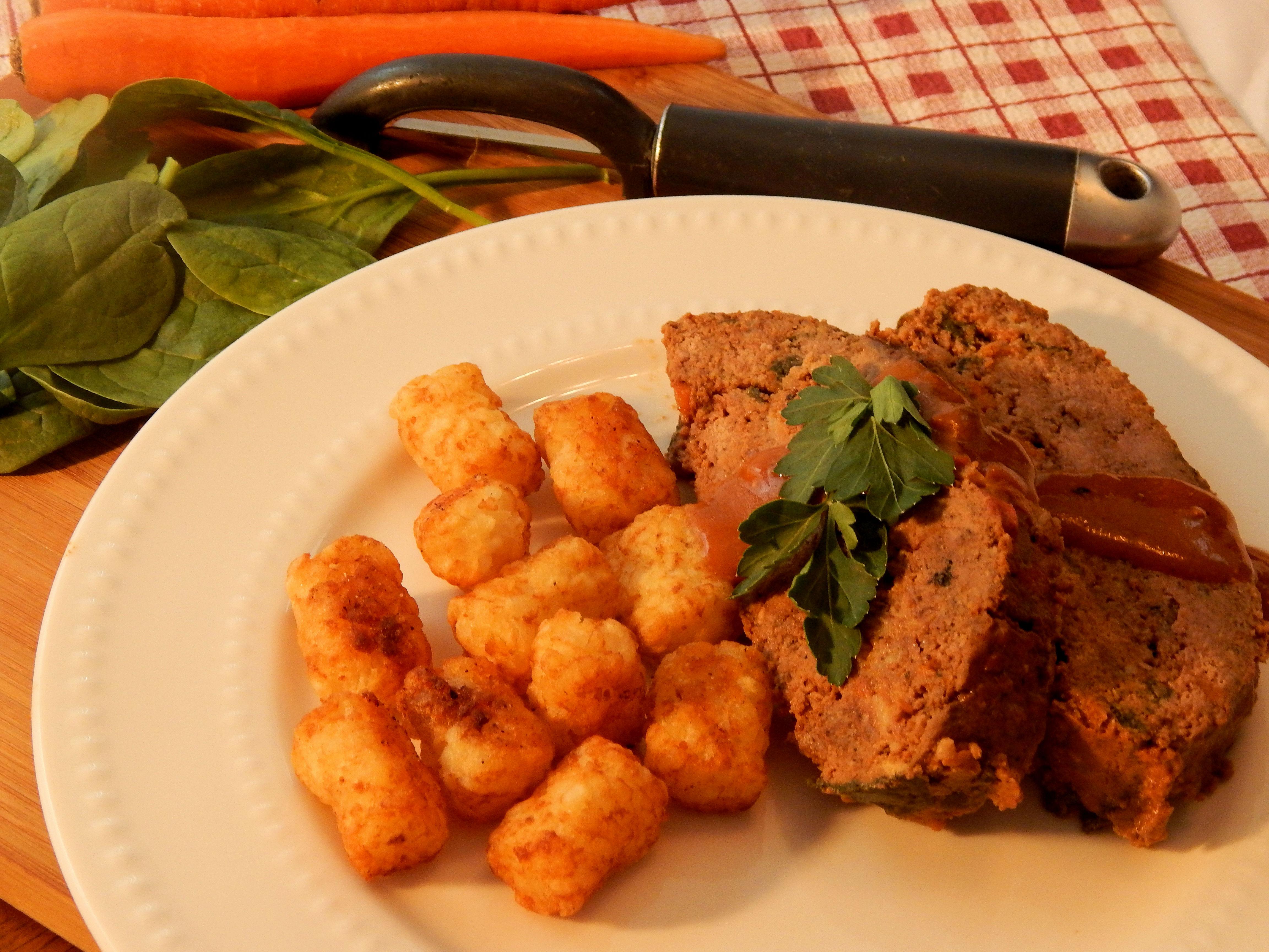 Slow Cooker Meatloaf Supper