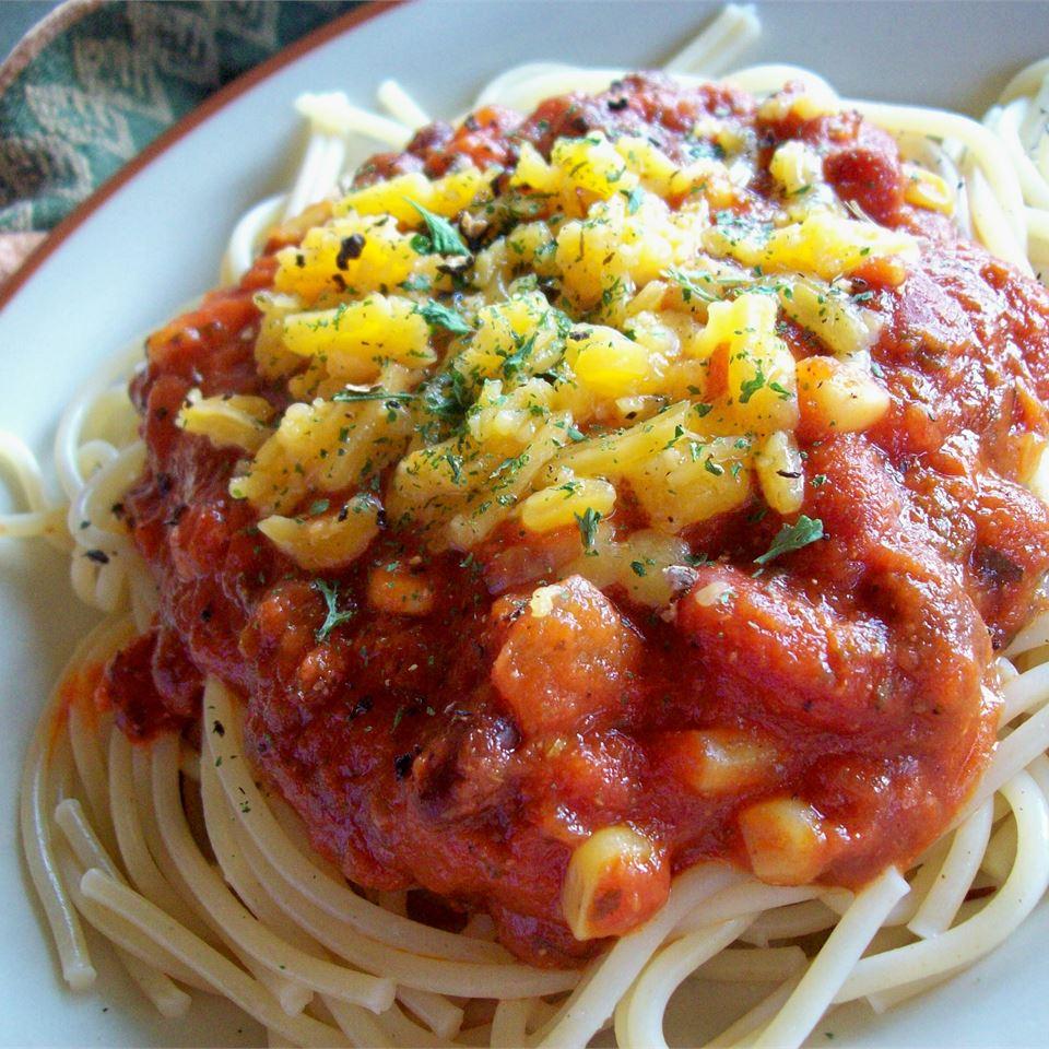 Spaghetti with a Kick