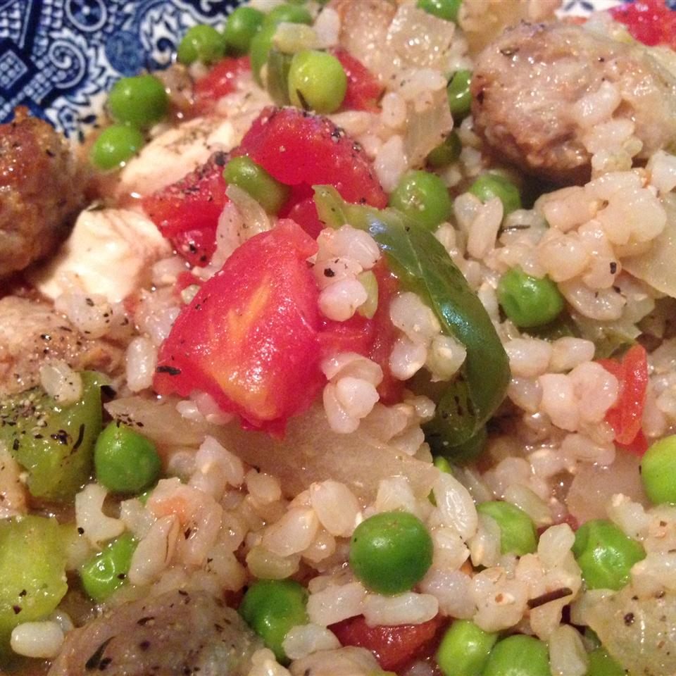 Spanish-Style Chicken and Sausage