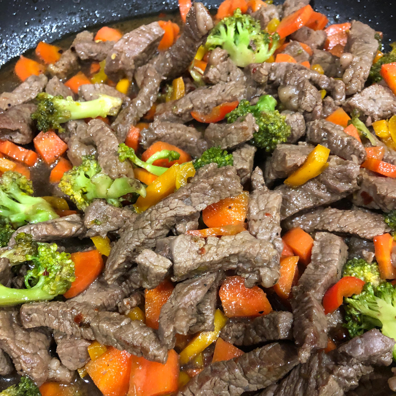 Spicy Sweet Steak Stir Fry