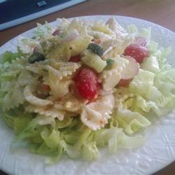 Summertime Chicken and Pasta Salad